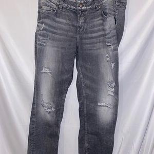 Silver suki slim ankle length jeans Distressed 18